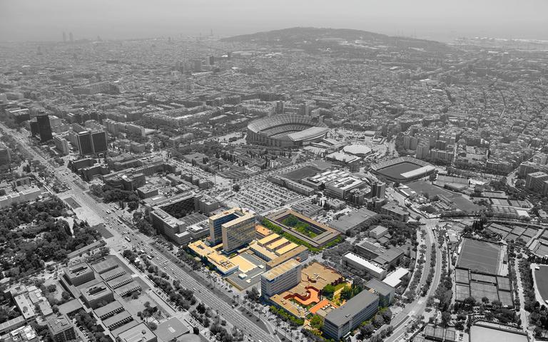 Barcelona-Campus Diagonal Sud