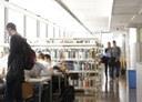 Sala de la Biblioteca de l'Escola Tècnica Superior d'Enginyeria Industrial de Barcelona