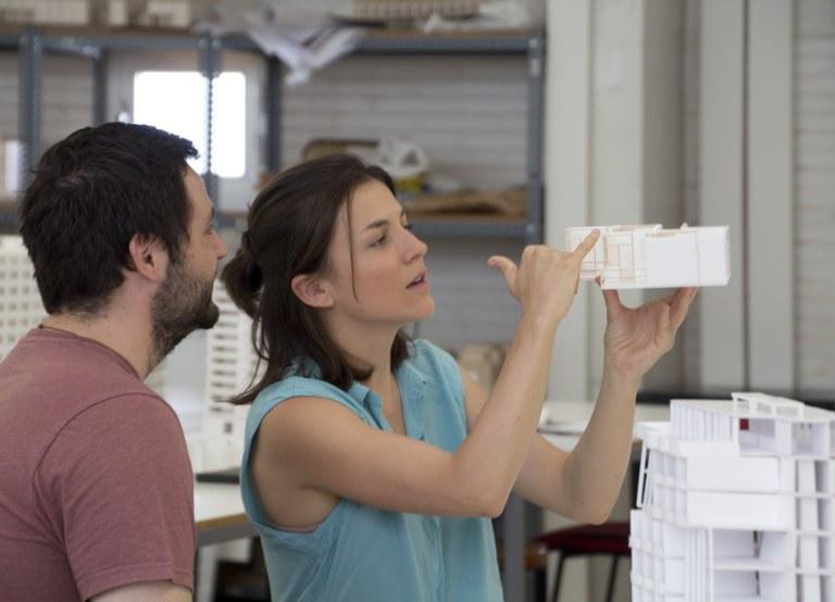 Taller de maquetes de l'Escola Tècnica Superior d'Arquitectura del Vallès (ETSAV)