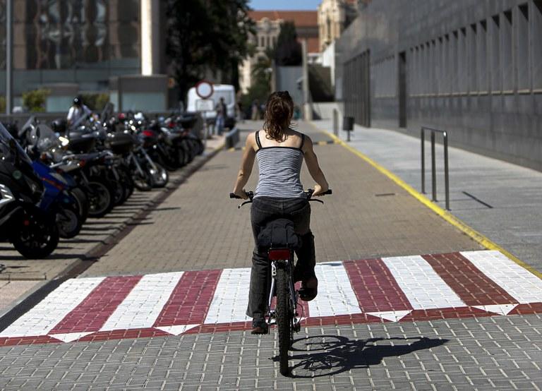 Mobilitat sostenible als campus de la UPC