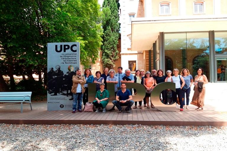 Personal de direcció de les Biblioteques UPC
