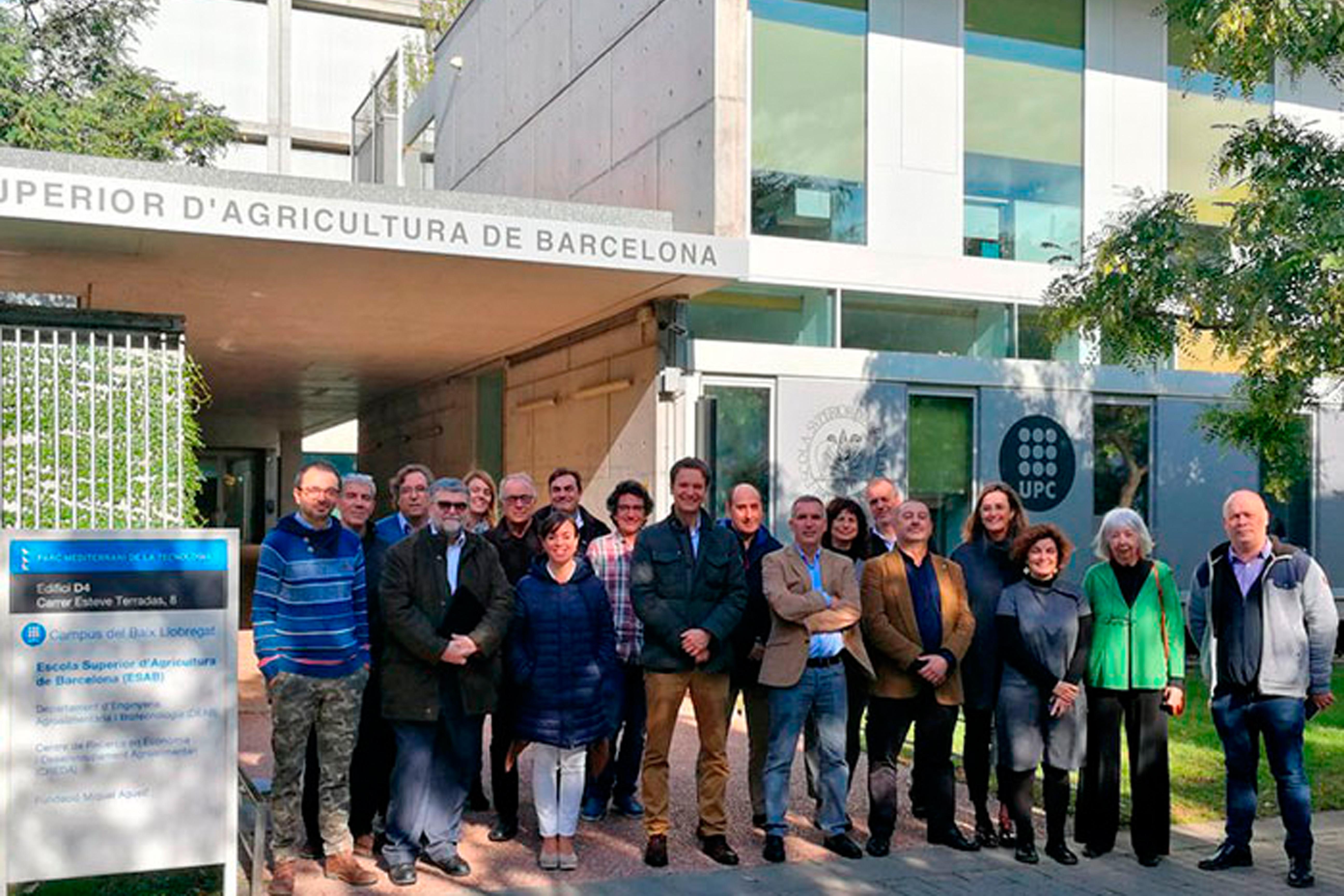 Consell de Direcció a l'Escola Superior d'Agricultura de Barcelona (ESAB)