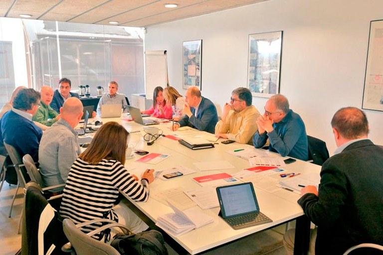 Consell de Direcció a l'Escola Tècnica Superior d'Arquitectura del Vallès (ETSAV)