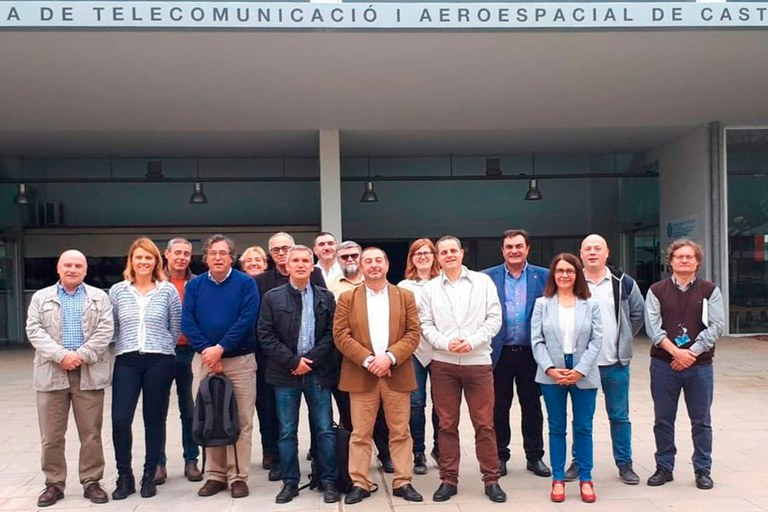 Consell de Direcció a l'Escola d'Enginyeria de Telecomunicació i Aeroespacial de Castelldefels (EETAC)