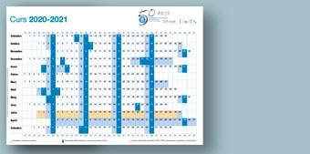 Calendari UPC 2017-18