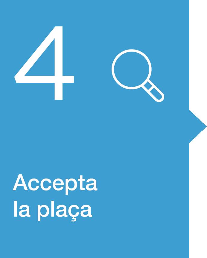 4. Consultar la resolució de l'admissió