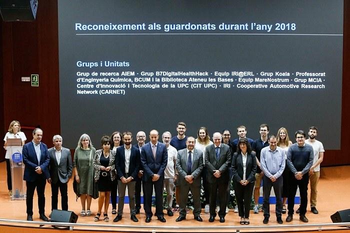 Premiats Grups i Unitats 2018