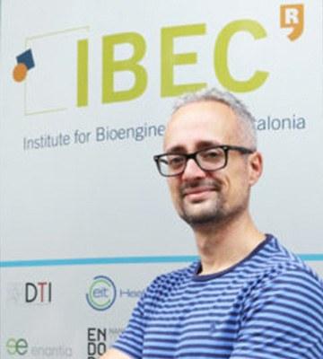 Loris Rizzello, investigador de l'Institut de Bioenginyeria de Catalunya (IBEC)