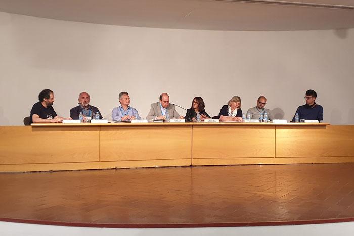 Els ponents al Claustre Universitari del 20 de maig
