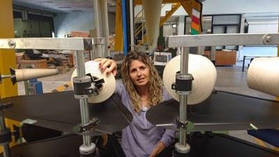 Mònica Ardanuy, una de las investigadoras del equipo de Terrassa