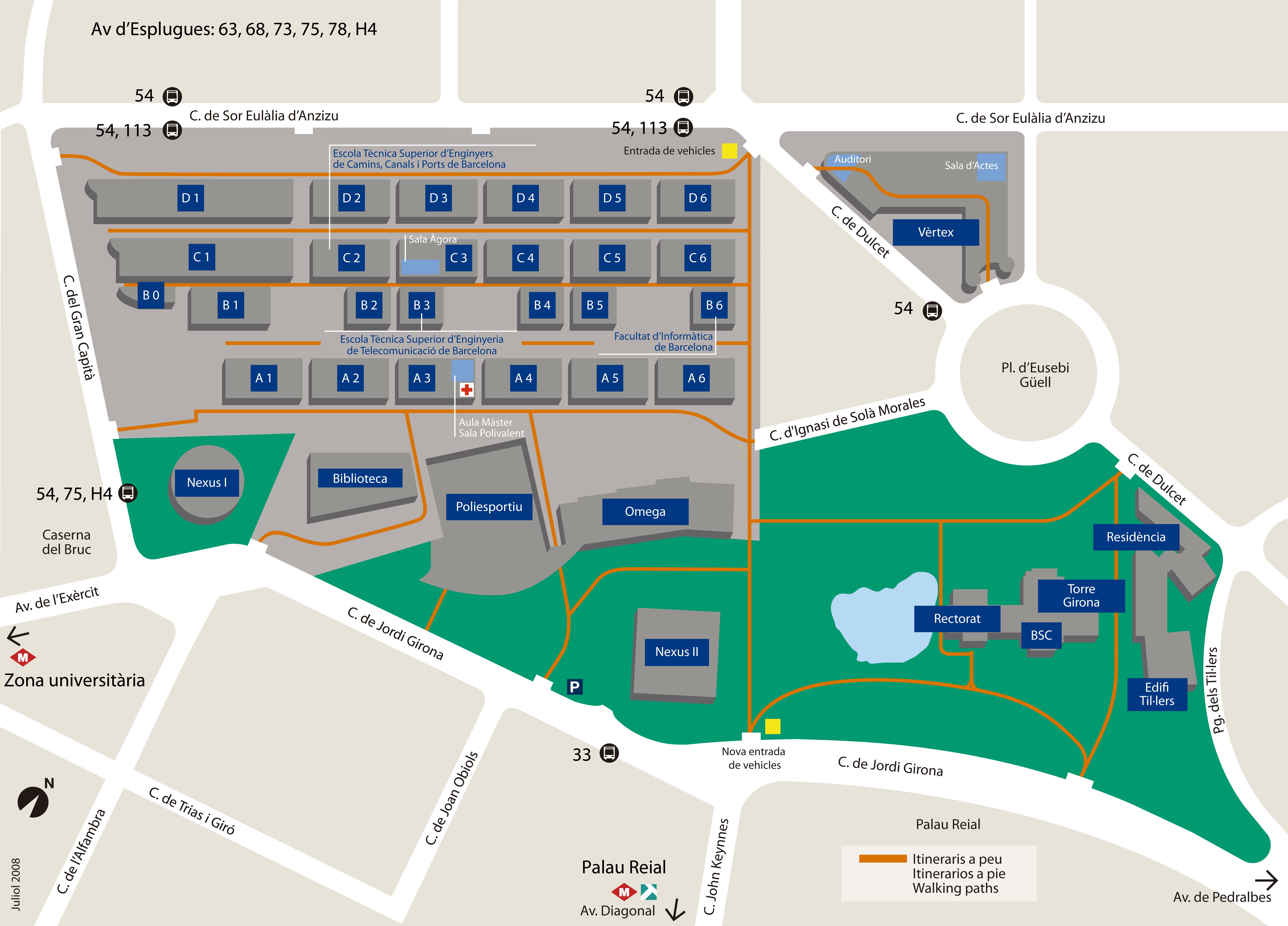 Mapa del lloc