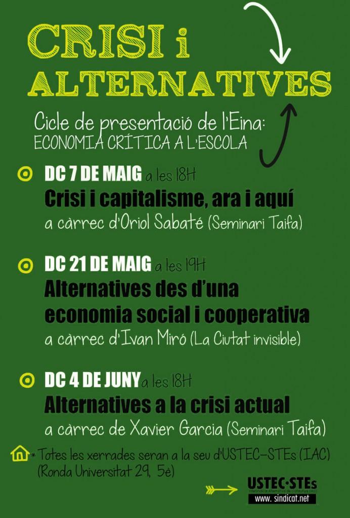 crisi i alternatives cartell ustec