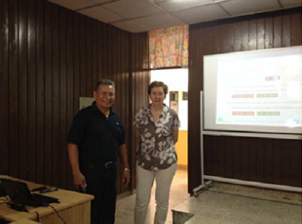 ACADEMIC VISIT OF THE TEACHER M.LL. MASPOCH IN THE UNIVERSITI OF HOLGUIN (CUBA)
