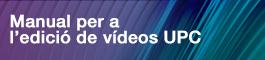 Manual per a l'edició de vídeos