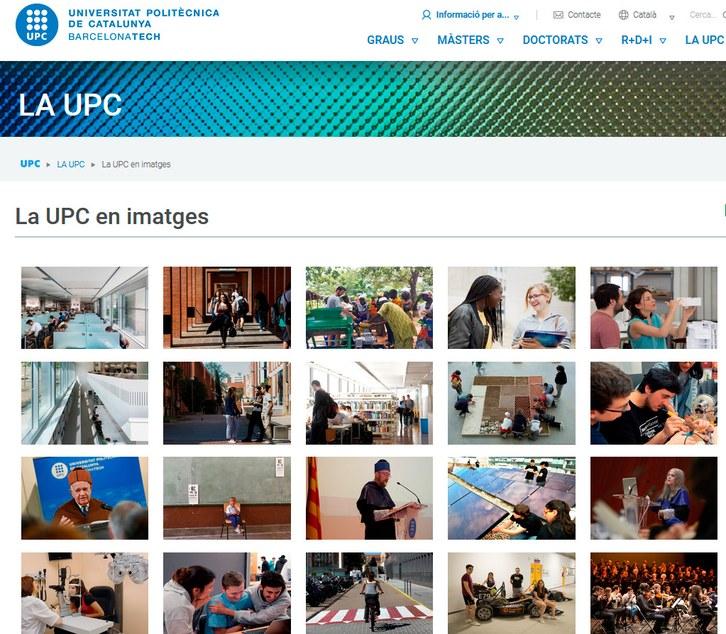 La UPC en imatges