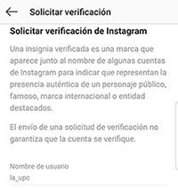 Verificar Instagram