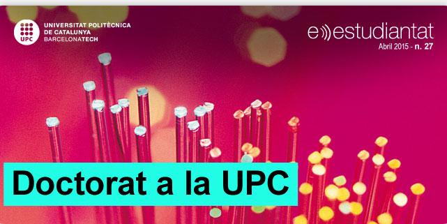 Doctorat a la UPC
