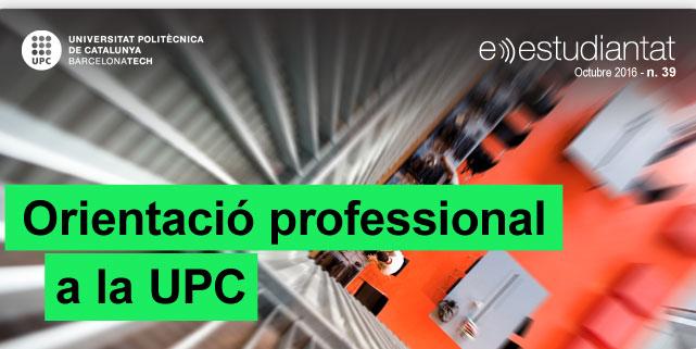Orientació professional a la UPC
