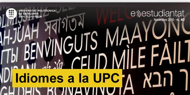 Idiomes a la UPC