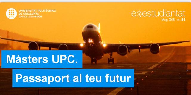 Màsters UPC. Passaport al teu futur