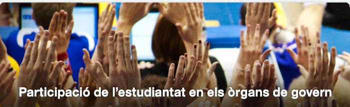 Participació de l'estudiantat en els òrgans de govern