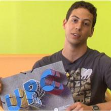 David del Río, guanyador del 12è Concurs de la Carpeta UPC