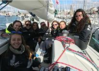 Dues tripulacions de l'FNB a la regata internacional EDHEC 2017