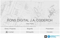 Fons digital J.A. Coderch a l'ETSAV, una nova eina per la recerca i la docència