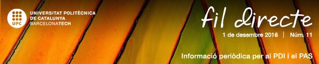 Informació periòdica per al PDI i el PAS