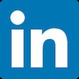 Linkedin rounded Logo