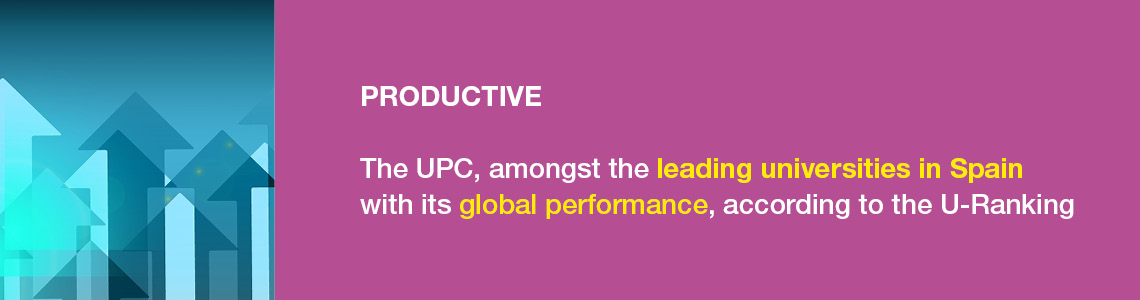 Innovadora. La UPC és la segona universitat més innovadora d'Espanya. Top 100 Europe's Most Innovative Universities (Reuters).