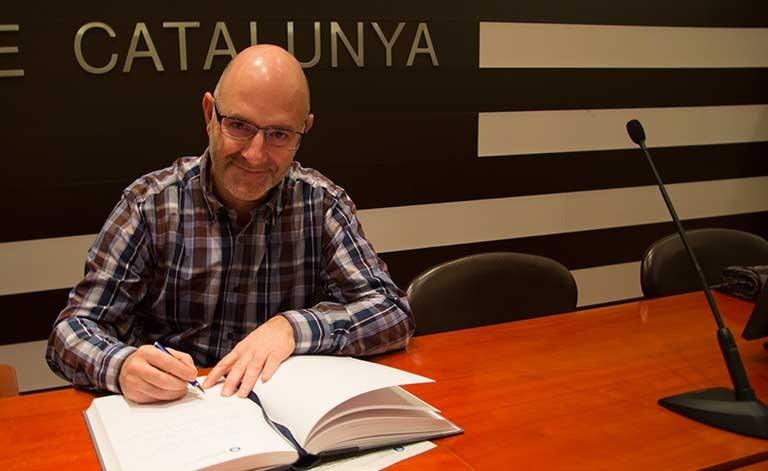 Miquel Soriano, vicerector de Política de Personal Docent i Investigador
