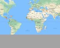 Mapa de la cooperacio