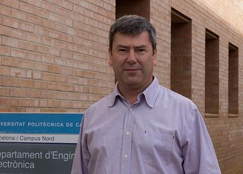 Retrat de Jordi Salazar, director del Departament d'Enginyeria Electrònica