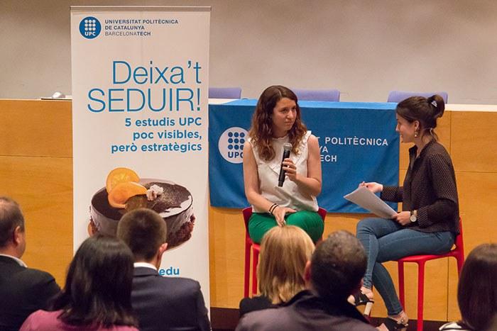 Merce Morató, alumni Enginyeria Disseny Textil ESEIAAT