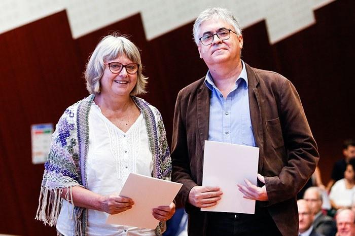 Premio a los profesores por su trayectoria docente