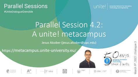 Participem al 3rd Dialogue Unite!
