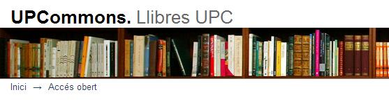 UPCommons. Llibres