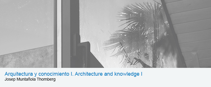Arquitectura y conocimiento I = Architecture and knowledge I