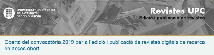 Oberta la convocatòria 2019 d'ajuts per a l'edició de revistes de recerca en accés obert