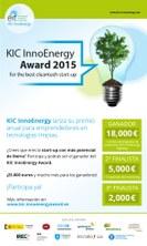 "KIC InnoEnergy Iberia llança el ""Sustainable Energy Award"" per a start-ups"