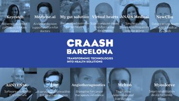 Myosleeve, projecte del CREB UPC, escollit pel programa d'acceleració CRAASH Barcelona.