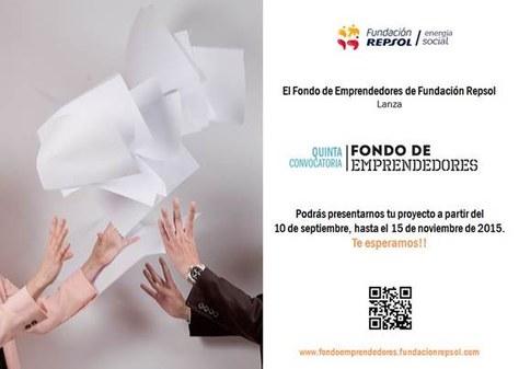 Obertura de la 5a convocatòria del Fons d'Emprenedors de la Fundació Repsol