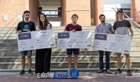 Qualla guanya la 7a Edició del Concurs Emprèn UPC YUZZ