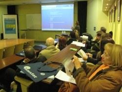 Un moment de la sessió de TECTEX