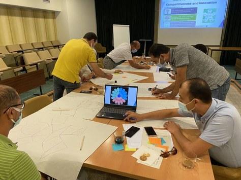 Formació a professors de Tunísia en el marc del Projecte WINTEX