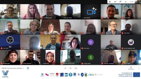 Tercera reunió del projecte WINTEX