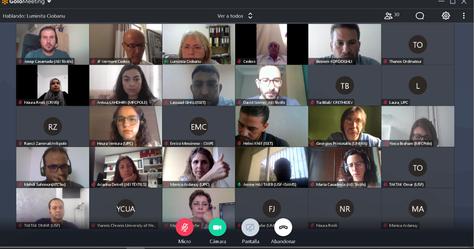 El Proyecto Wintex avanza con su segunda reunión de seguimiento coordinada por UPC-INTEXTER