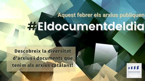 Participem en la campanya #documentdeldia de l'AAC