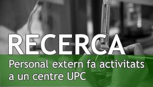 Recerca. Personal extern a UPC